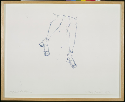 My Beautiful Legs, 1997 By Tracey Emin