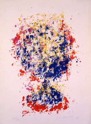 Head I, 1956 By William Turnbull