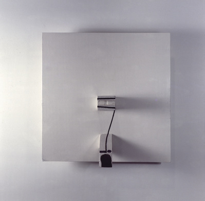 Projective Painting in White, Black and Umber, 1969