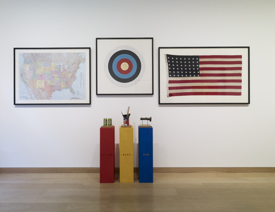 H.O.M.A.G.E. - J.J. (a homage to Jasper Johns), 1995