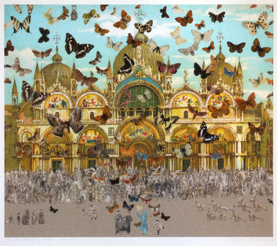 The Butterfly Man -Venice (in homage to Damien Hirst), 2010