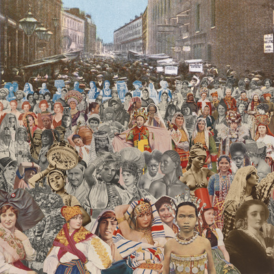 London: Petticoat Lane - One Hundred Women, 2012