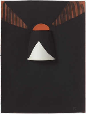 Black and White Lampshade, 1987