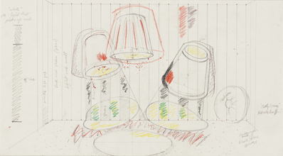 Untitled (set design for 'Party Game'), 1984