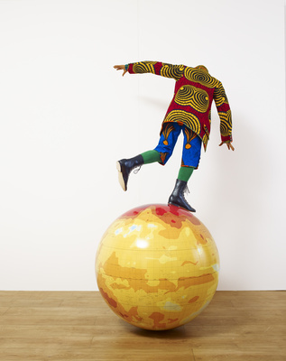 Boy on Globe, 2014 By Yinka Shonibare CBE