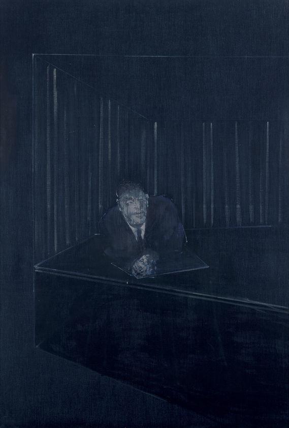 Man In Blue Iv 1954 Francis Bacon Artimage