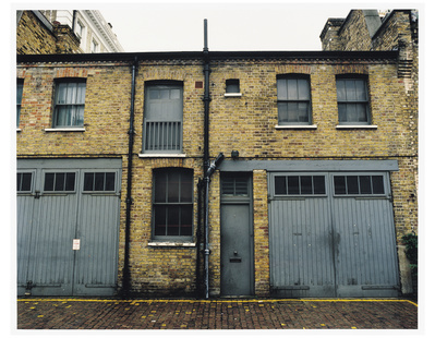 Francis Bacon's 7 Reece Mews, London 1998