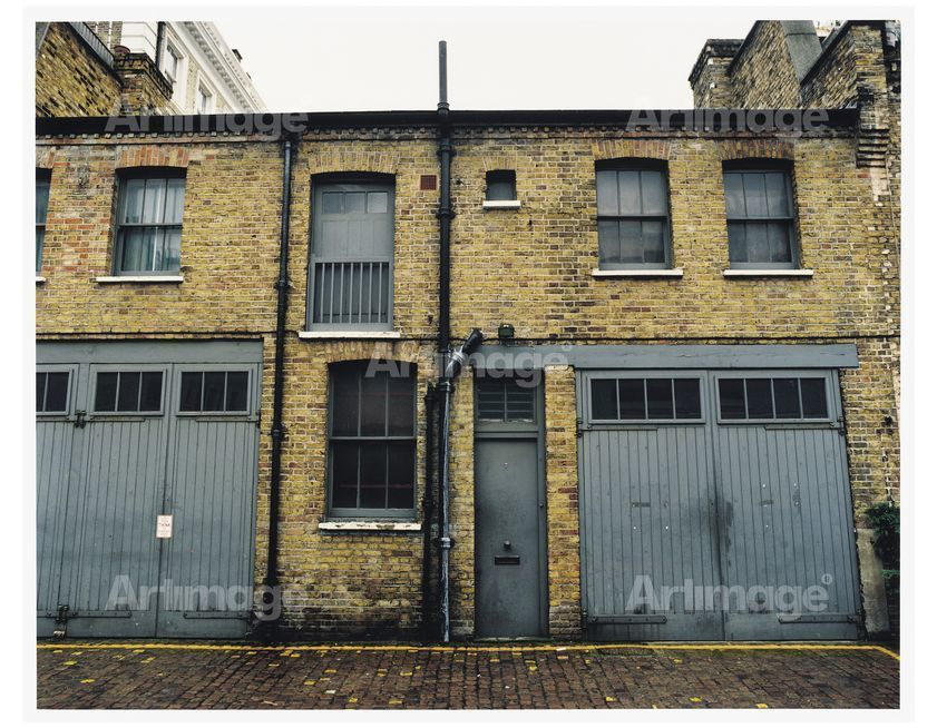 Enlarged version of Francis Bacon's 7 Reece Mews, London 1998