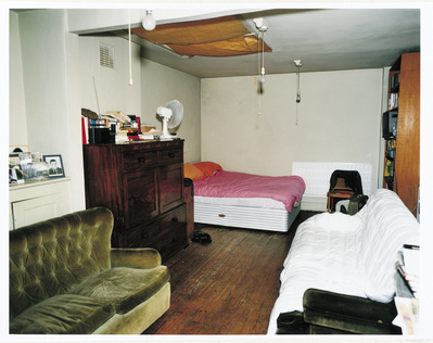 Francis Bacon's 7 Reece Mews studio, London 1998  By Francis Bacon