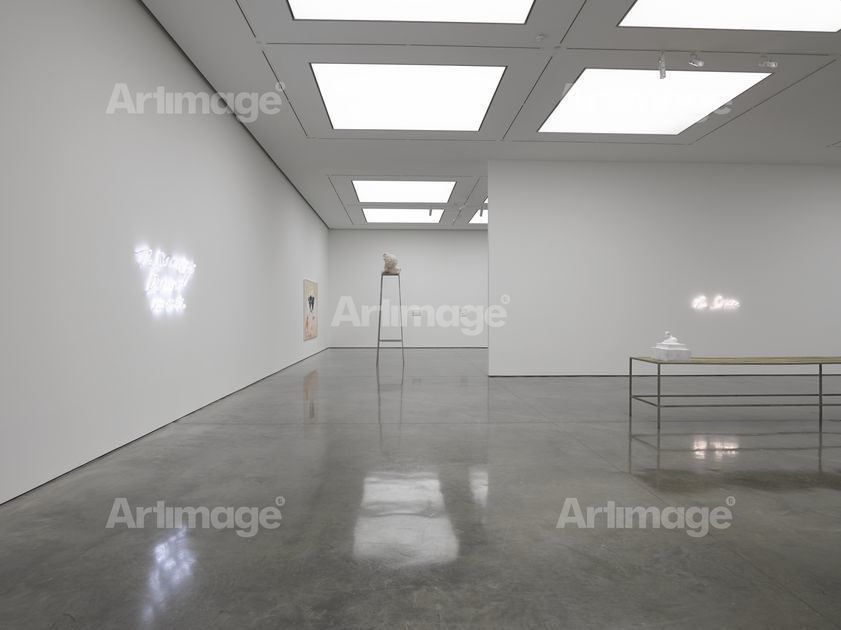 Enlarged version of 'The Last Great Adventure is You' at White Cube Bermondsey, London. 8 October - 16 November 2014