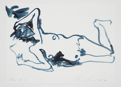 How it is, 2014 By Tracey Emin