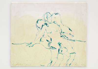 I Felt you, 2014 By Tracey Emin
