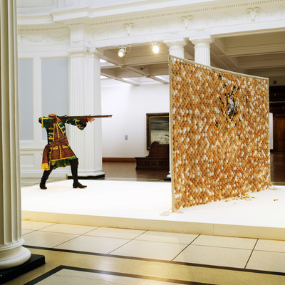 Egg Fight, 2009 (Installation view, Dublin City Gallery The ... By Yinka Shonibare CBE