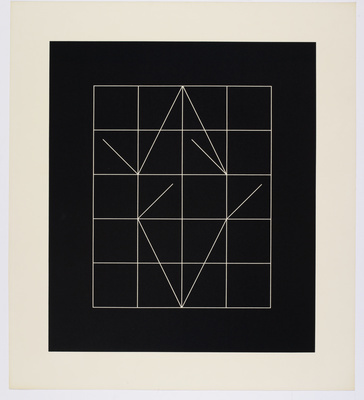 Vector Rhythms, 1974 By Anthony Hill