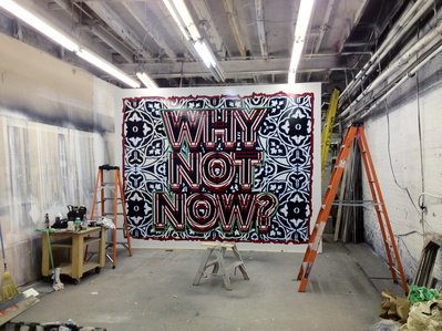 Why not now, in progress, Toronto, 2012