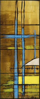 Cartoon for Baptistry Window, Coventry Cathedral, 1959