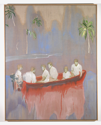 Figures in Red Boat, 2005-2007