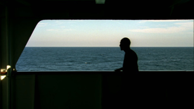 MiddleSea, 2008 (View of the exhibition 'Shipwreck : The dea... By Zineb Sedira