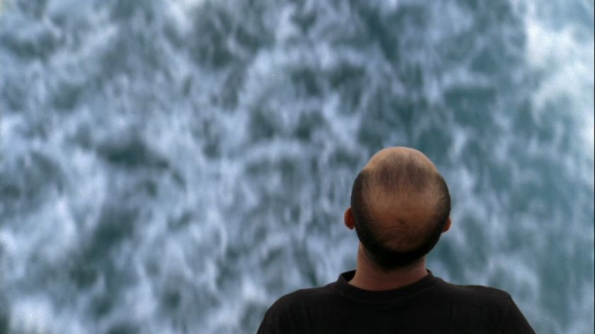 MiddleSea, 2008 (View of the exhibition 'Shipwreck : The death of a journey' at kamel mennour, Paris)