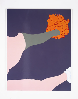 American Tan XVI (Gloss), 2006-07 By Gary Hume