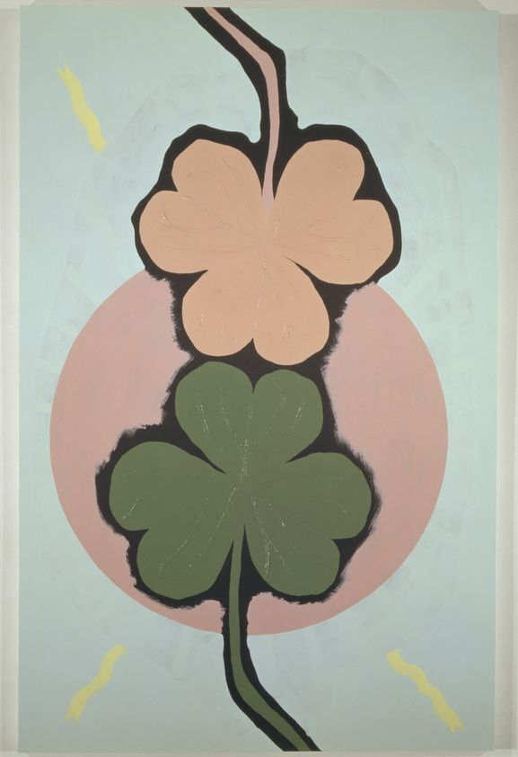 Two Three Leaf Clovers 1994 Gary Hume Artimage