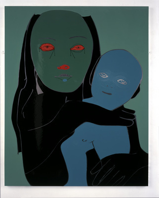 Young Mother and Child, 2001