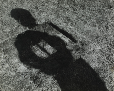Invisible Hole Revealed by the Shadow of the Artist, 1968