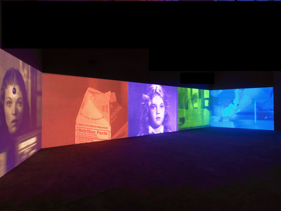 Psi Girls, 1999  (Installation at Tate Britain, London) By Susan Hiller