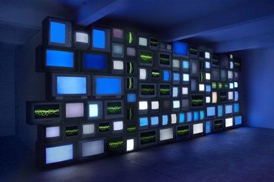 Channels, 2013 By Susan Hiller