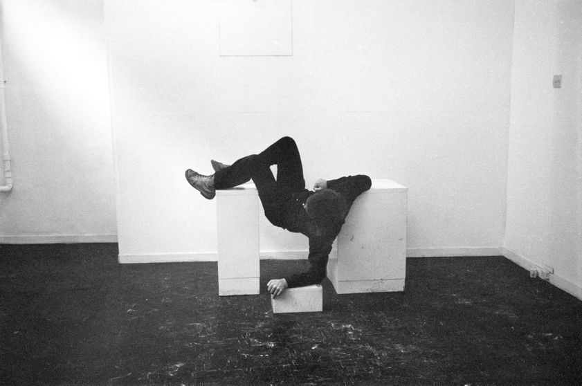 Pose Work for Plinths, 1971 (detail)