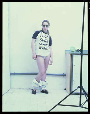 Fuck, Suck, Spank, Wank, 1993 By Sam Taylor-Johnson
