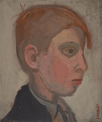 Boy's Head 'A Glasgow Boy' By Joan Eardley