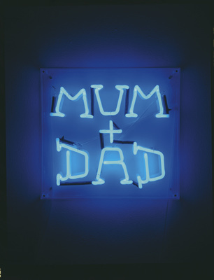Mum + Dad, 2002 By Graham Fagen
