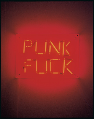 Punk Fuck, 2002 By Graham Fagen