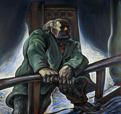 The Heroic Dosser, 1987 By Peter Howson