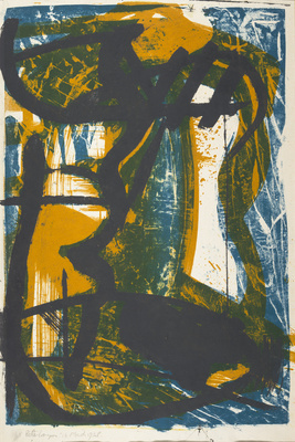 Untitled, 1958 By Peter Lanyon