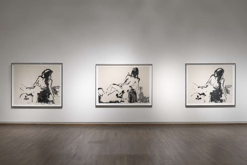 'Tracey Emin | Egon Schiele: Where I Want to Go' at the Leopold Museum in Vienna. 24 April - 14 Sept 2015