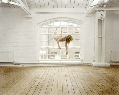 Self Portrait Suspended II, 2004 By Sam Taylor-Johnson