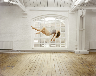 Self Portrait Suspended III, 2004 By Sam Taylor-Johnson