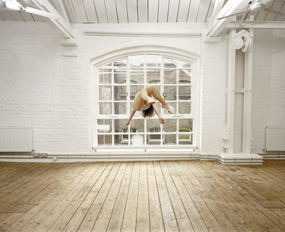 Self Portrait Suspended VI, 2004 By Sam Taylor-Johnson