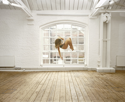 Self Portrait Suspended IV, 2004 By Sam Taylor-Johnson