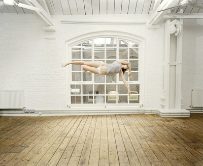 Self Portrait Suspended VII, 2004 By Sam Taylor-Johnson