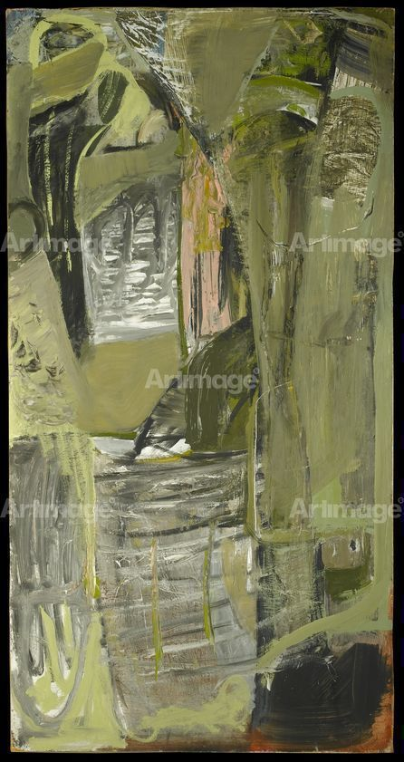 Moor Cliff, Kynance, 1953