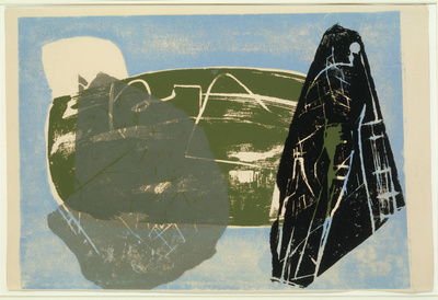 Landscape of Stone Leaves, 1952