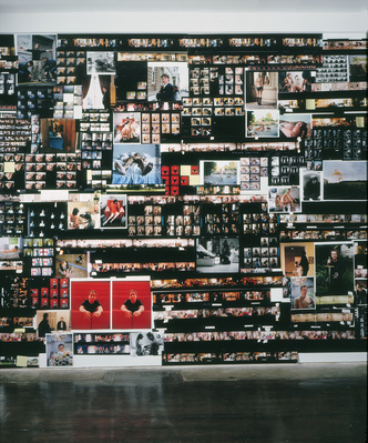 Contact (installation view), 2000