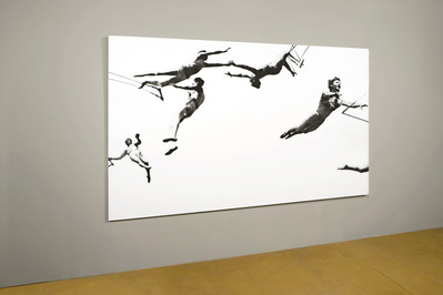 Trapeze (large), 2008, part of 'For Your Pleasure' at Matche... By Abigail Lane