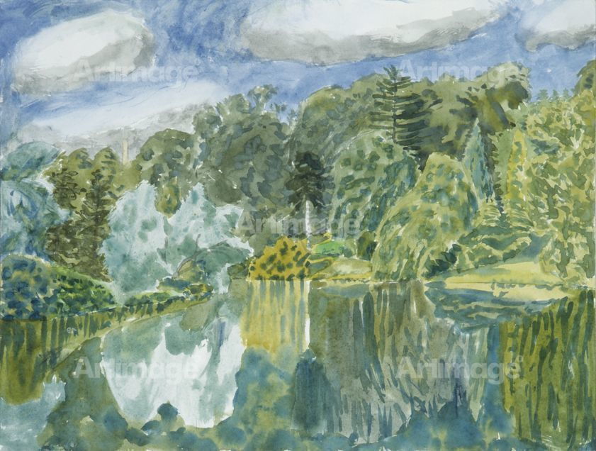 Enlarged version of Stourhead, 16th August 1990