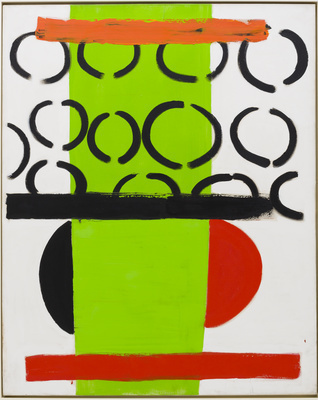 Green and Orange, 1970