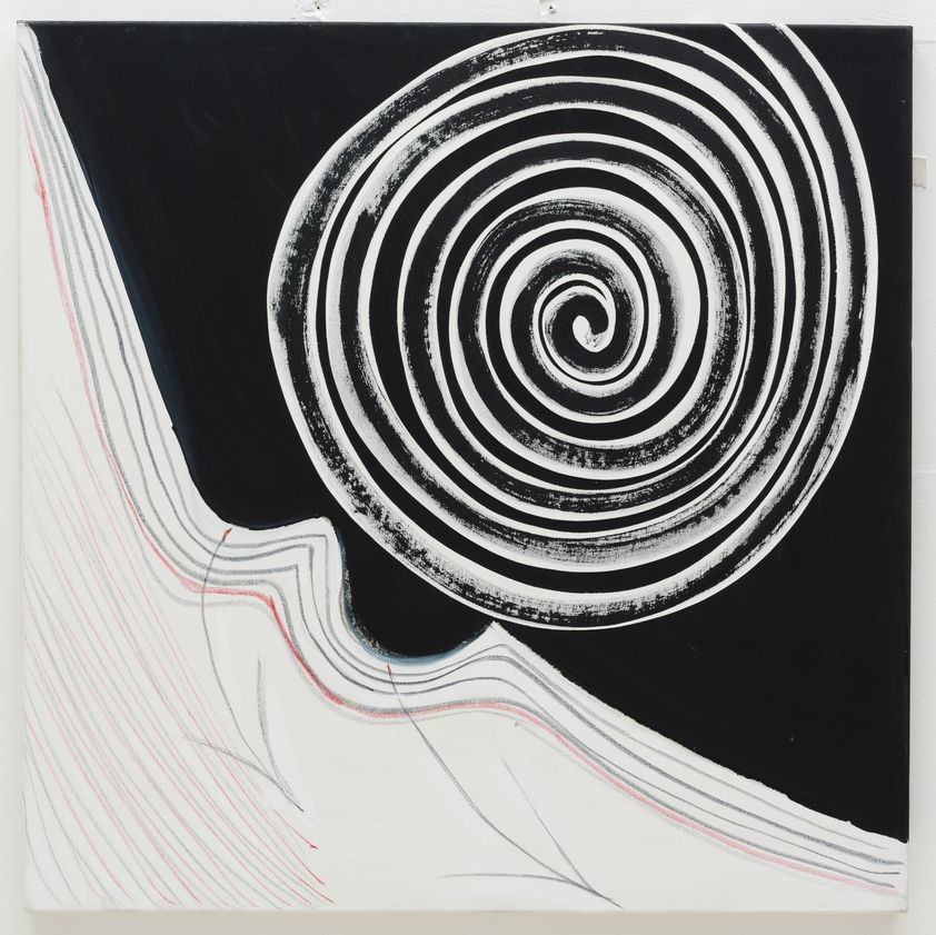 Black and White Spiral, 2003