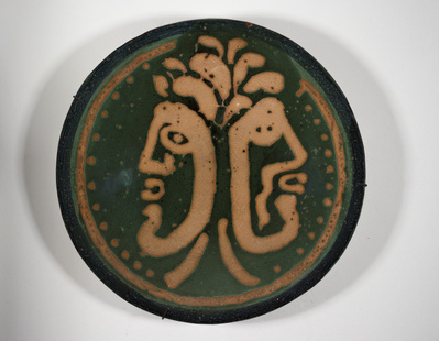 Double head plate, c. 1975